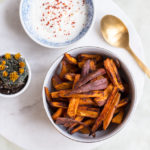 Quick & Easy: Sweet Potatoe Fries aus dem Backrohr